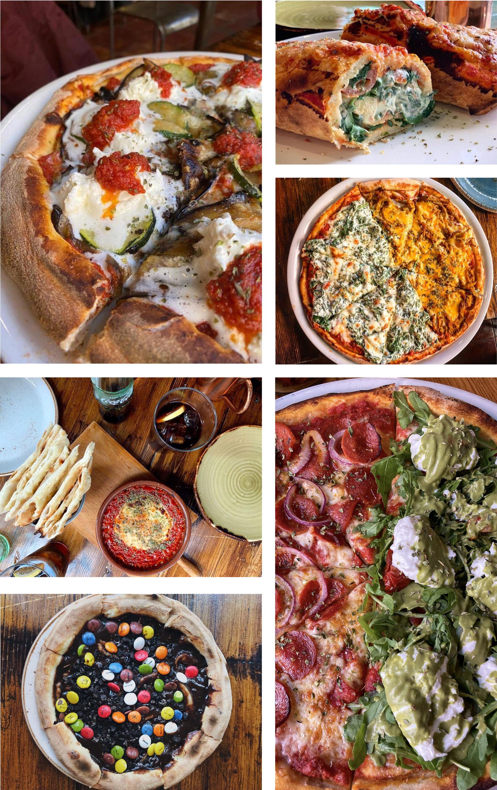 Pizzas de todos los sabores